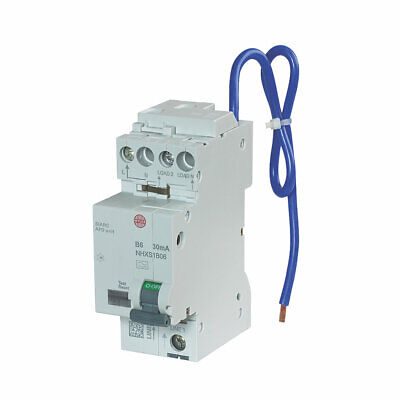 £249.99 • Buy Wylex 6 Amp 30mA DP Type B AFDD RCBO Arc Fault Detection Device NHXSB06 AFD