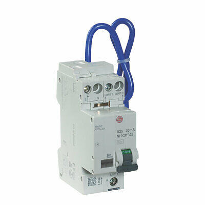£249.99 • Buy Wylex Arc Fault Detection Device 30mA Type B AFDD RCBO 18th Edition