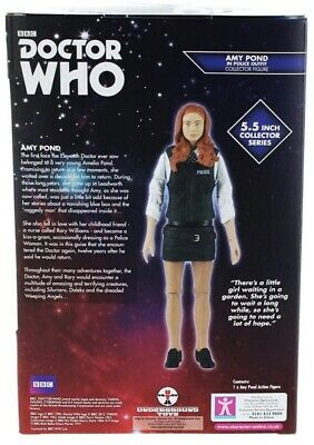 Doctor Who AMY POND Police Outfit 5.5  Collector Series Action Figure NEW • 12£