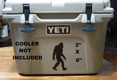 Sasquatch Big Foot Yeti Decal Sticker For Cooler Auto • 2.25£