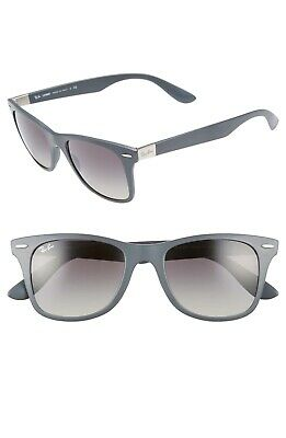 811f76fa03 Ray Ban Liteforce Wayfarer Sunglasses RB4195 6332 11 Matte Grey Frame 52mm  • 139.00