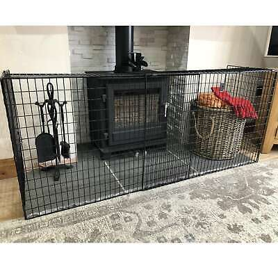 Extendable Fireguard Folding Safety Guard Folding Fireplace Cover Child Baby Kid • 26.99£