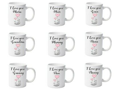 PERSONALISED Mothers Day Mugs With Message (Mum, Mummy, Nana, Grandma & More!) • 7.99£
