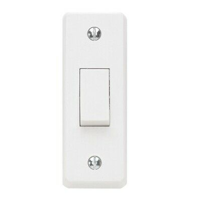 £2.99 • Buy Contactum X2752 1 Gang 2W 10AX Architrave Moulded White Switch