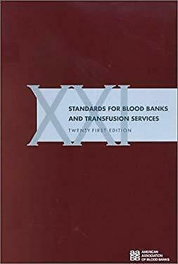 £3.29 • Buy Standards For Blood Banks And Transfusion Services Aabb
