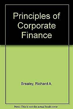 £5.94 • Buy Principles Of Corporate Finance 3rd Edition STEWART MYERS' 'RICHA