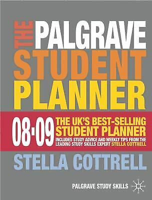 £3.25 • Buy Palgrave Student Planner 2008-09 By Stella Cottrell