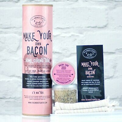 £16 • Buy Make Your Own Bacon, Home Curing Kit - Bacon Curing Gift Set Christmas Gifts