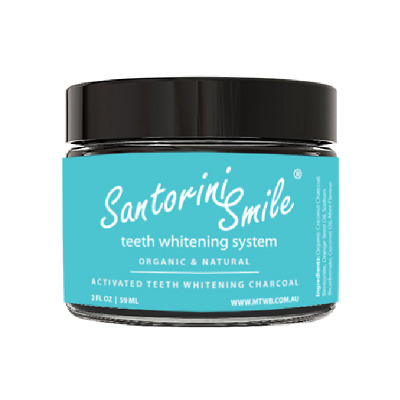 AU8 • Buy TEETH WHITENING - Santorini Smile™ Activated Teeth Whitening Charcoal