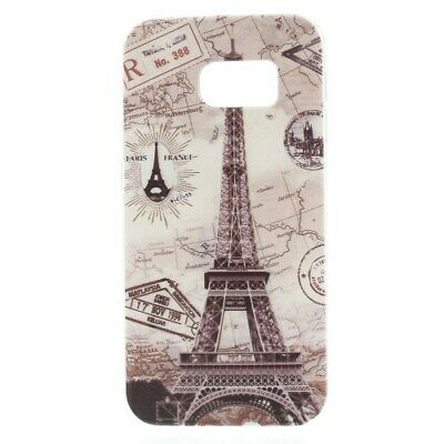 $ CDN2.28 • Buy Embossed TPU Eiffel Tower Case Cover For Samsung Galaxy S6 Edge