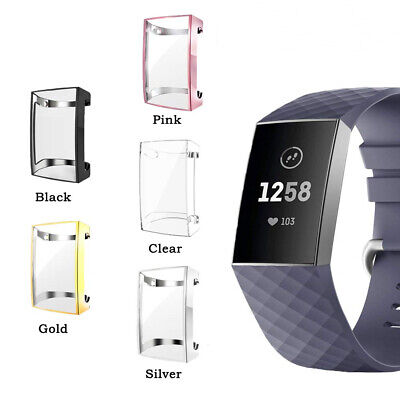$ CDN4.96 • Buy Fr Fitbit Charge 2 Bracelet Soft TPU Full Protective Case Cover Screen Protector