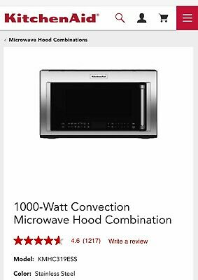 Kitchenaid Oven Microwave Compare Prices On Dealsan Com