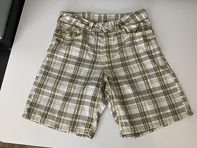 "True Religion Mens Shorts, Size Waist 36"", Checked, VGC Surf • 28.47£"