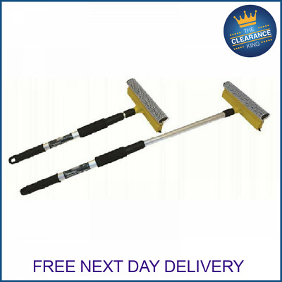 £6.99 • Buy Telescopic Window Cleaner Cleaning Kit Extending Wash Head Squeegee