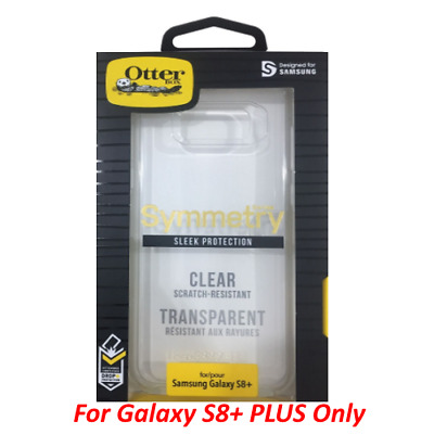 $ CDN8.01 • Buy Authentic Otterbox Symmetry Series Case Cover For Samsung Galaxy S8+ Plus Clear