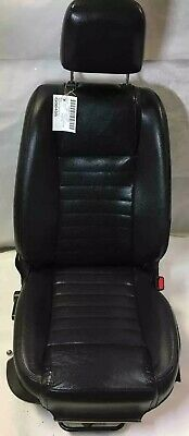 $434.99 • Buy 2005 - 2007 Mustang GT Coupe Passenger Right Leather Bucket Manual Seat Black