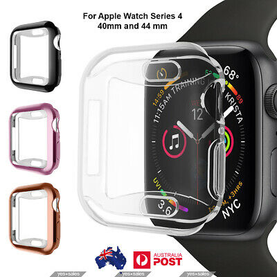 AU6.65 • Buy Full Cover TPU Case IWatch Screen Protector For Apple Watch Series 5 4 40mm/44mm
