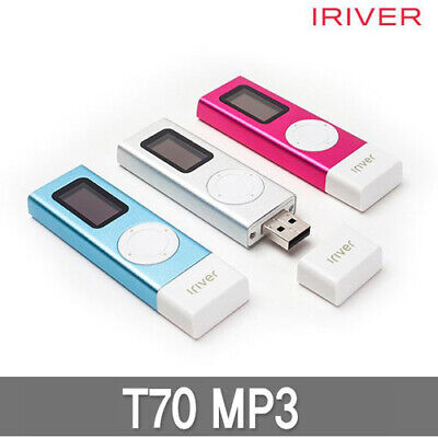 £58.17 • Buy Genuine Iriver T70 Portable MP3 Player Built In USB Voice Recording 2Way - 8GB