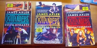 AU21.99 • Buy JAMES AXLER. OUTLANDERS Series.  THE IMPERATOR WARS. Books 1,2 And 3.