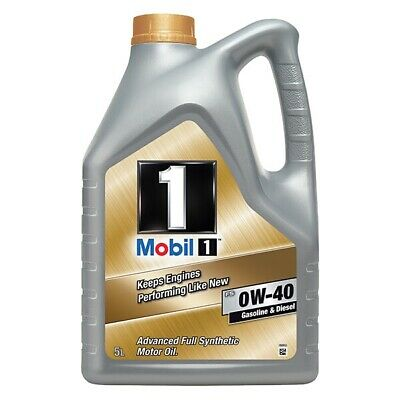 5 Litres 5L Mobil FS 0W40 Fully Synthetic Engine Oil VW & Longlife Spec • 57.75£