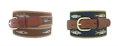 $22.99 • Buy Zep-Pro Mens Leather Canvas Backcountry Back Country Slam Redfish Tarpon Snook