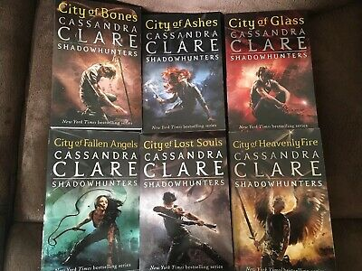 Shadowhunters The Mortal Instruments Set Of 6 Books • 25£
