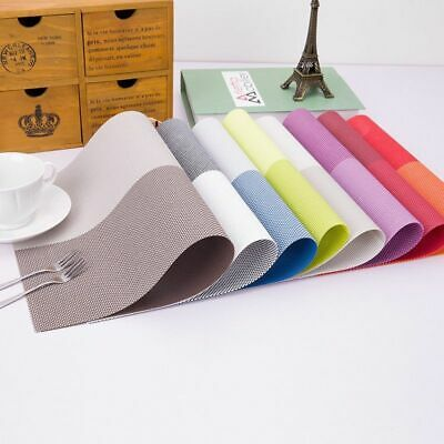 AU14.77 • Buy Non-slip Mats Dining Table Coasters Kitchen Accessories Place-mat Washable Pads
