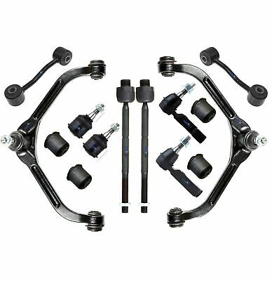 $216.44 • Buy 14 Pc Front Suspension Kit For Jeep Liberty 02-04 Upper Control Arms Tie Rod End