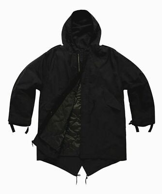 $73.10 • Buy M51 Vintage Retro Fishtail Parka With Quilted Liner Sizes XS-3XL Black