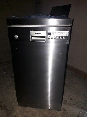 View Details Siemens Slimline Stainless Steel Dishwasher Barely Used IMMACULATE • 300.00£