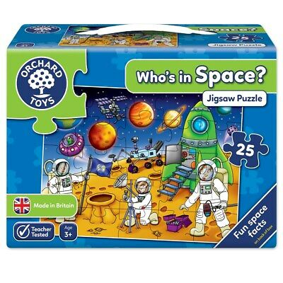 Orchard Toys Who's In Space Jigsaw Puzzle • 8.52£