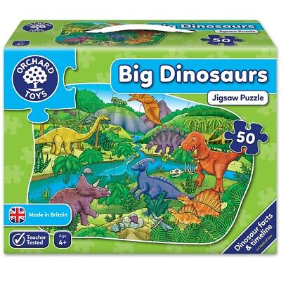 £11.55 • Buy Orchard Toys Big Dinosaurs Jigsaw Puzzle