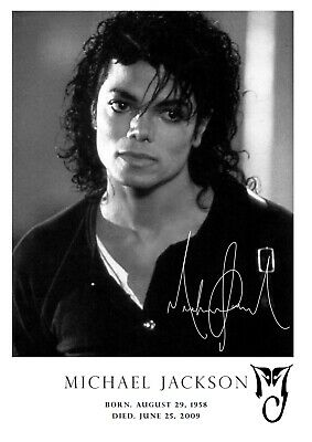 Michael Jackson Poster Tribute #200 - Music Icon - A3 - 420mm X 297mm (NEW) • 6.99£