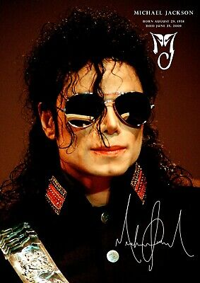 Michael Jackson Poster Tribute #207 - A3 - 420mm X 297mm (NEW) • 6.99£