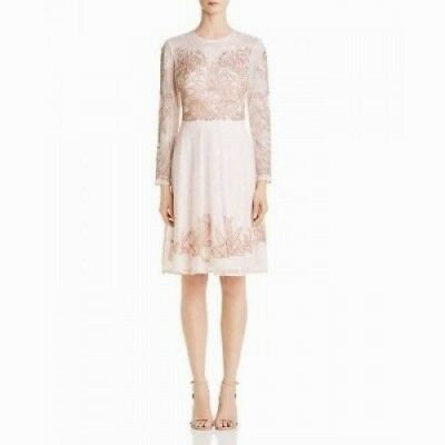 $58.49 • Buy Aidan Mattox Embellished Lace Cocktail Dress MSRP $495 Size 2 # 7A 537 Blm