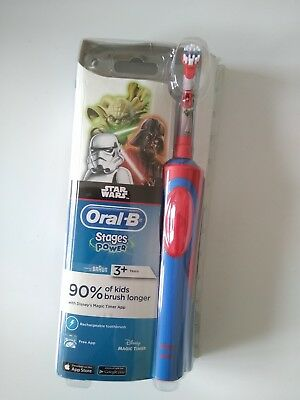 AU80 • Buy Oral B Stage Power Kids Electric Toothbrush Star Wars