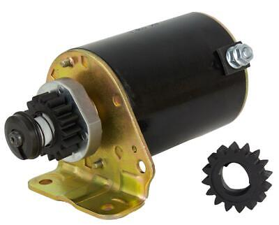AU57.95 • Buy Ride On Mower Starter Motor For Briggs And Stratton Motors 5-18hp 16tooth 499521