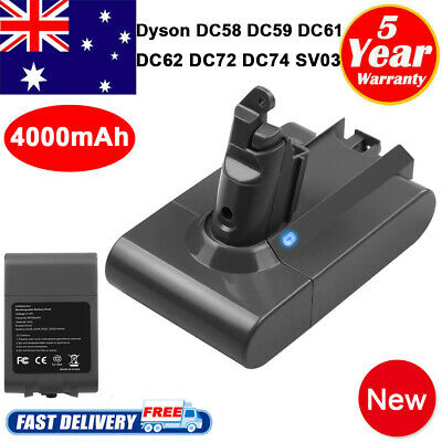 AU30.95 • Buy FOR DYSON V6 ANIMAL Replace BATTERY DC61,DC62,DC72,DC74,V6 DC58,DC59 Absolute HH