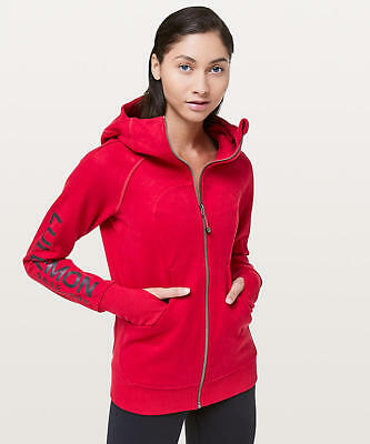 $ CDN189.82 • Buy NEW *SOLD OUT* Lululemon Scuba Hoodie 20Y Collection Cotton Fleece Red Sz 4