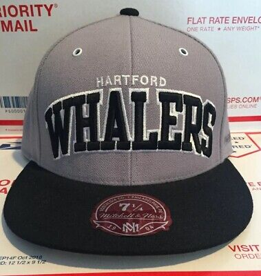 2c975eafb4b06 Mitchell   Ness Hartford Whalers Mens Cap Hat Size 7 1 4 New With Tags