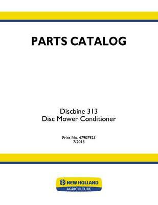 new holland disc mower parts