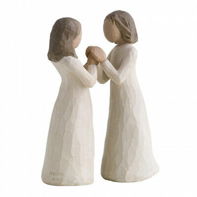 £37 • Buy New & Boxed Willow Tree Figurine  Sisters By Heart  26023