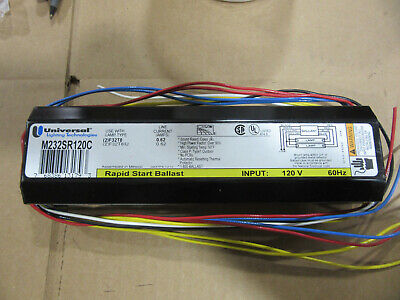 $21.95 • Buy Universal M232SR120C Ballast For Two F32T8 Lamps 120V NEW!!! Free Shipping