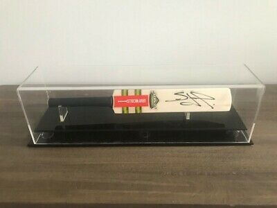 AU90 • Buy Simon O'Donnell Personally Signed Mini Bat In Case