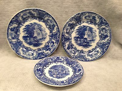 $32.50 • Buy 3  Abbey  Pattern Plates 2 Are PETRUS REGOUT MAASTRICHT HOLLAND & 1 Is G. Jones