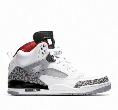 official photos 3b557 08038 Nike Air Jordan Spizike OG White Cement 4 Free Throw Line 3 Black 88 NRG JTH