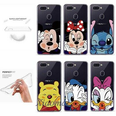 AU11.35 • Buy Cute Cartoon Silicone TPU Clear Phone Case Back Cover For OPPO F9 F7 F5 F1S A79