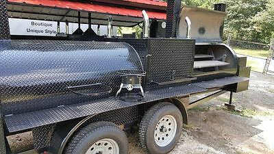 T Rex W Rotisserie BBQ Smoker Cooker Grill Trailer Mobile Food Truck Concession • 11,999$