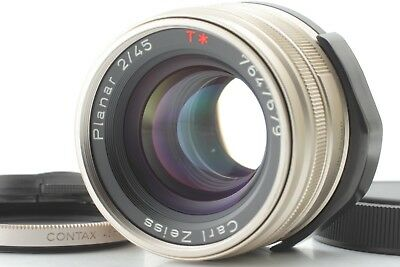 $333.99 • Buy 【EXC+++++】Contax Carl Zeiss T* Planar 45mm F/2.0 G1 G2 From JAPAN #312A