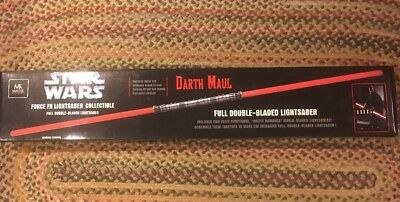 Star Wars Master Replicas Darth Maul Double Bladed Light Saber New Unopened Box • 1,873.36£